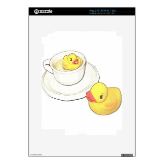 Ducks in a Cup iPad 2 Decal