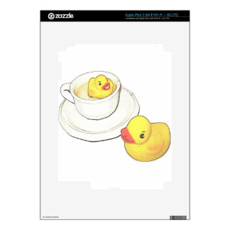 Ducks in a Cup iPad 3 Decal