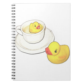 Ducks in a Cup Notebook