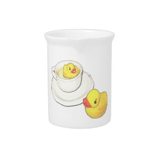 Ducks in a Cup Drink Pitcher
