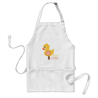 Ducks In A Row Adult Apron