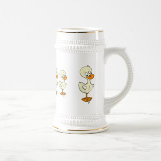 Ducks in a Row Beer Stein