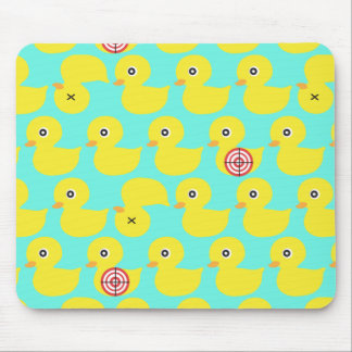 ducks in a row mouse pad