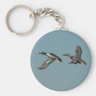 Ducks in Flight 2 Keychain