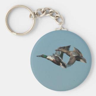 Ducks in Flight 3 Keychain
