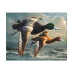 Ducks In Flight Canvas Prints