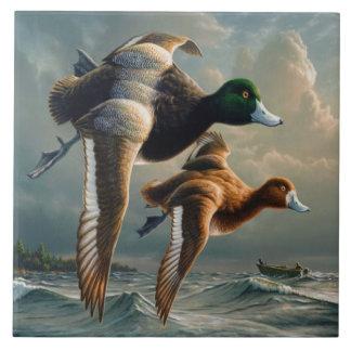 Ducks In Flight Tile