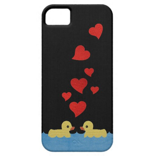 Ducks in Love at Night iPhone 5 Case