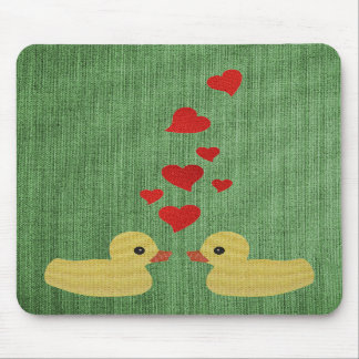 Ducks In Love Mousepad
