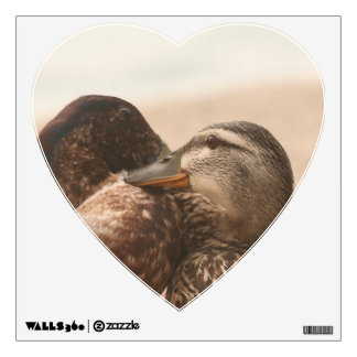 Ducks in Love Wall Decal