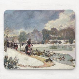 Ducks in the Bois de Boulogne Mouse Pad