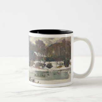 Ducks in the Bois de Boulogne Two-Tone Coffee Mug