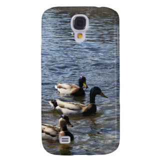 ducks in water, green timber park galaxy s4 cover
