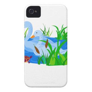 Ducks in water iPhone 4 case