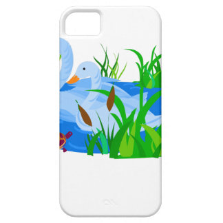 Ducks in water iPhone SE/5/5s case