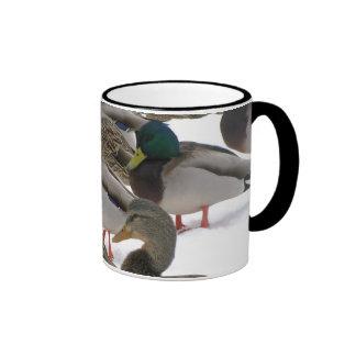 Ducks in Winter Mug