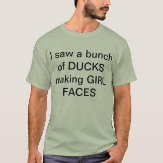Ducks making girl faces T-Shirt