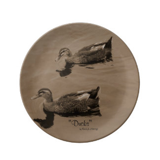 Ducks Porcelain Plates
