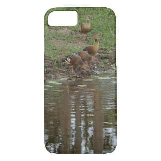 DUCKS NEAR EDGE OF WATER IN RURAL AUSTRALIA iPhone 8/7 CASE