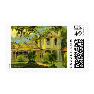 Duck's Nest postage stamp