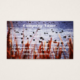Ducks on Pond Business Card