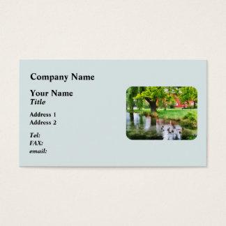 Ducks on Pond Business Card