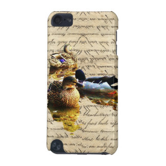 Ducks on vintage paper iPod touch 5G covers