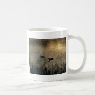 Ducks on Water Coffee Mug