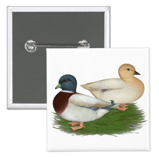 Ducks:  Pastel Calls Pin