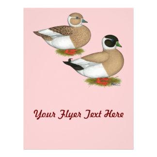 Ducks:  Penciled Calls Full Color Flyer