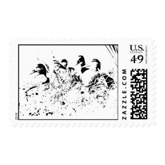 Ducks! Postage