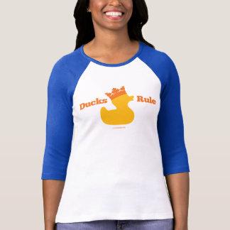 Ducks Rule (Girlie Athletic) T-Shirt