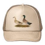 Ducks:  Silver Welsh Harlequin Trucker Hat