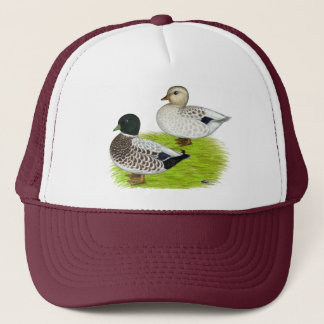 Ducks:  Snowy Calls Trucker Hat