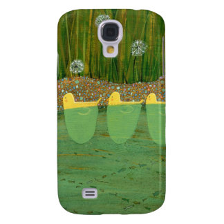 Ducks swimming in a pond galaxy s4 case
