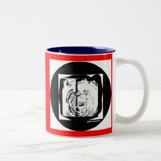 Ducks Two-Tone Coffee Mug