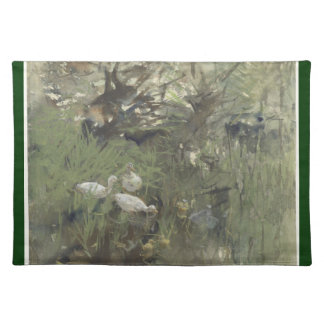 Ducks under the willows, Willem Maris Placemat