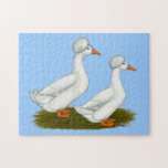 Ducks:  White Crested Puzzle