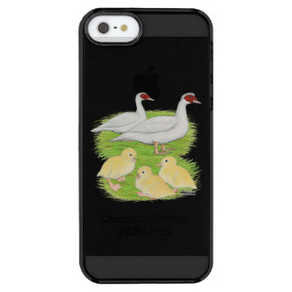 Ducks White Muscovy Family Uncommon Clearly™ Deflector iPhone 5 Case