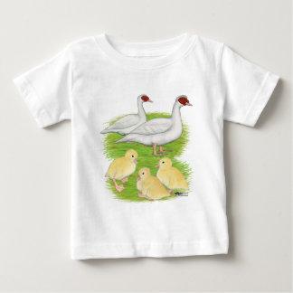 Ducks White Muscovy Family T-shirt