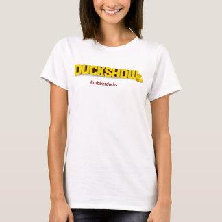 Duckshow Rubber Duck Logo (Girlie) T-Shirt