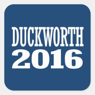 Duckworth - Tammy Duckworth 2016 Square Sticker
