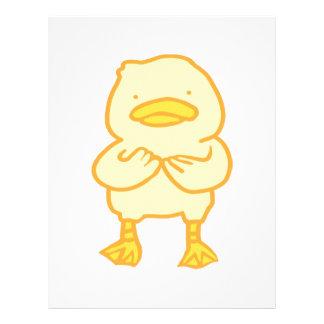 """ducky 8.5"""" x 11"""" letterhead"""