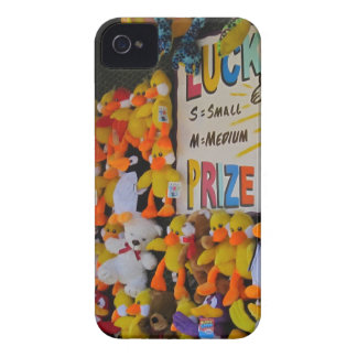 Ducky afortunado de los días del carnaval iPhone 4 funda