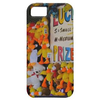 Ducky afortunado de los días del carnaval iPhone 5 funda