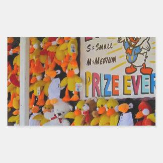 Ducky afortunado de los días del carnaval rectangular altavoces