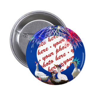 Ducky Celebration for the 4th of July Frame Buttons