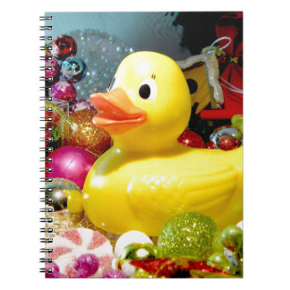 Ducky Christmas I Notebook