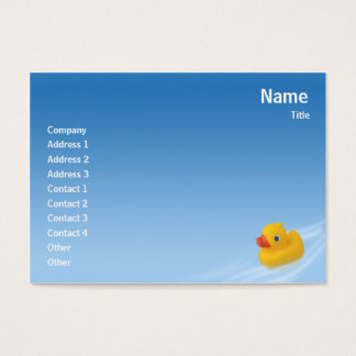 Ducky - Chubby Business Card