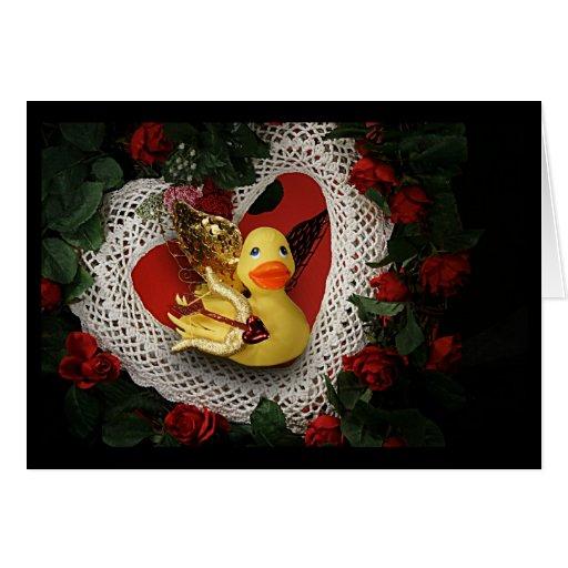 Ducky Cupid! Cards